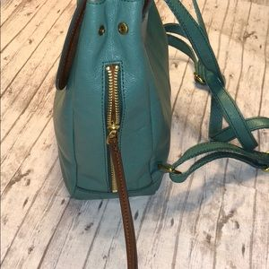 a8c3fe7c24aca Fossil Bags | Claire Teal Backpack Purse | Poshmark